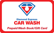 Diamond Express Car Wash Gift Cards